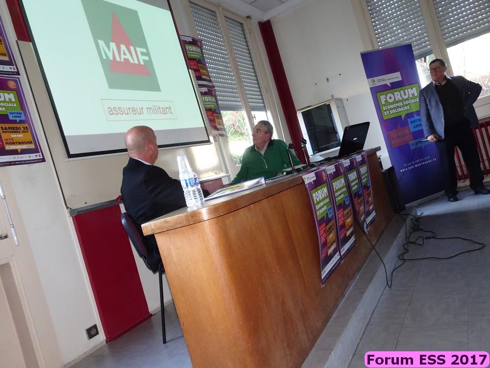 Table ronde 2017 - Numérique au service des associations