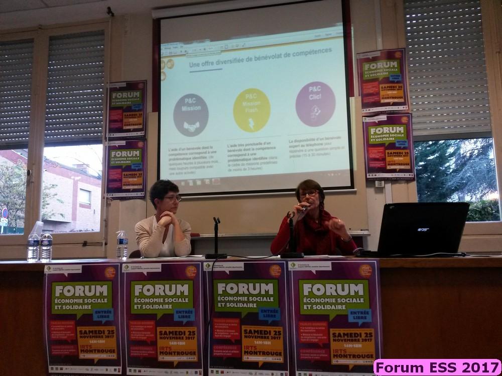 Table ronde 2017 - Mécénat/Bénévolat de compétences