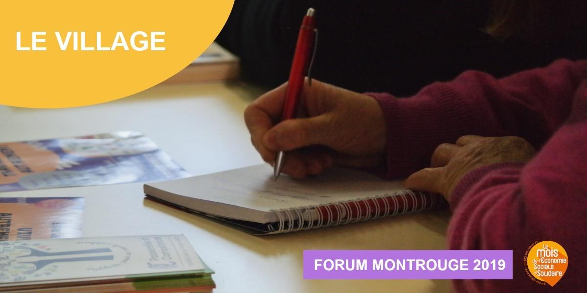 Forum 2019 – Le village