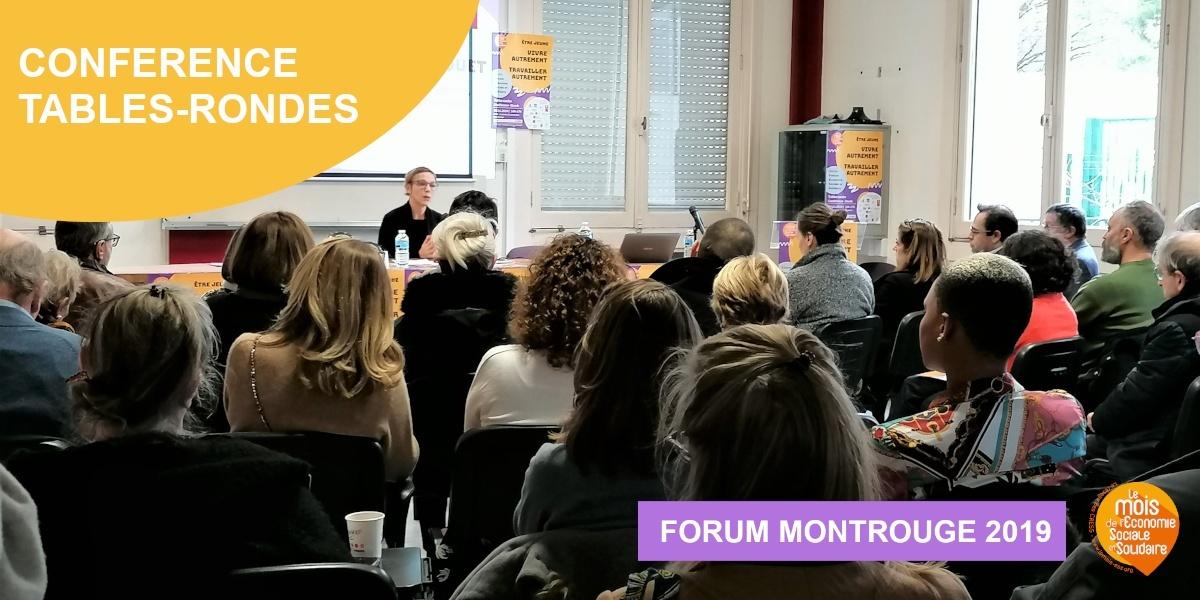 Forum 2019 – Conférence et tables-rondes